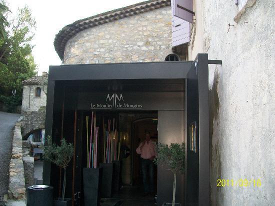 Le Moulin de Mougins : Réception