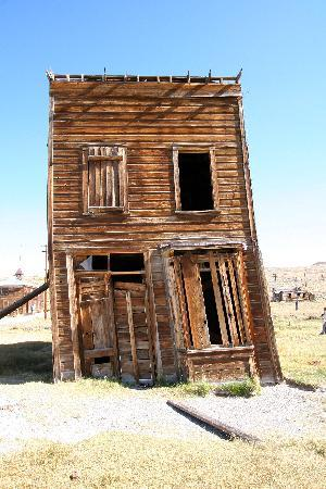 Bodie Hotel: this is a building in Bodie itself