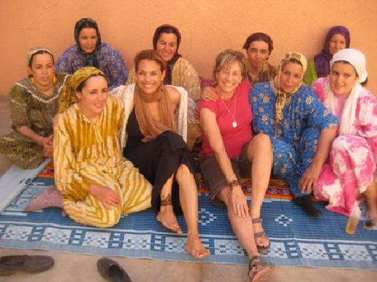 Travel Exploration Morocco Private Tours: The women in the Berber Village