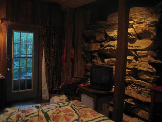 Ledford Mill Bed and Breakfast: The Creek Room