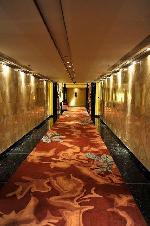 เดอะ ริทซ์ คาร์ลตัน เซี่ยงไฮ้ ผูตง: Hallway to my room