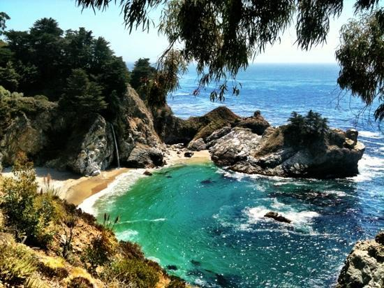 Julia Pfeiffer Burns State Park: One of the most pleasant views in Big Sur
