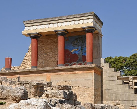 The Palace of Knossos: Palazzo