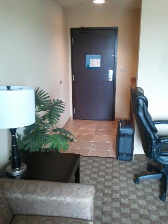 Hampton Inn & Suites McAlester: enterance