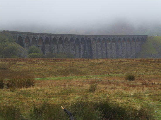 Settle, UK: Ribblehead viaduct