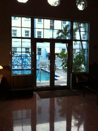 The Park Central: pool - from lobby