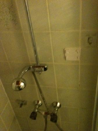 Hansa Hotel: die schimmelige Dusche
