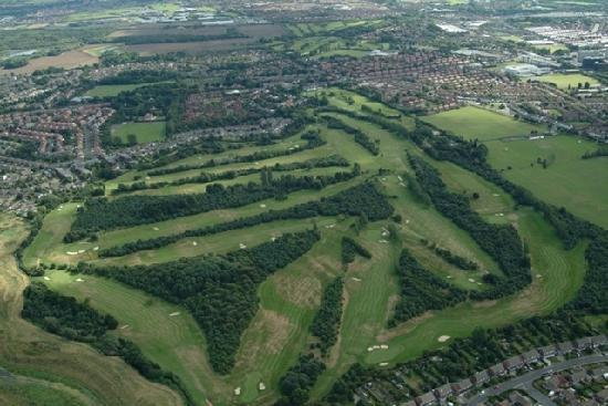 City of Newcastle Golf Club: Aerial View