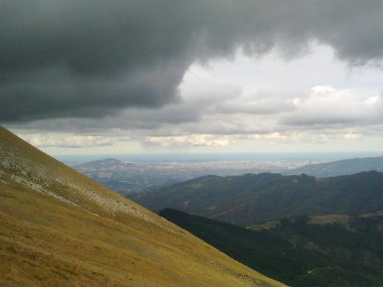 Montegallo, Italy: Panorama da Monte Vettore
