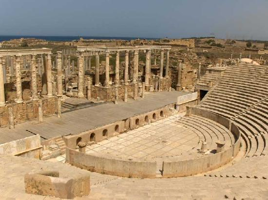 Al Khums, Libia: The Theatre
