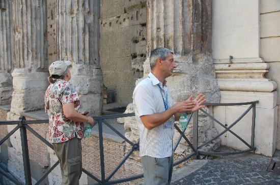 Private Rome Tours: Marco about to tell another story, his are great