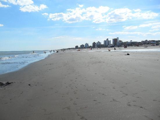 Monte Hermoso, Argentina: La playa