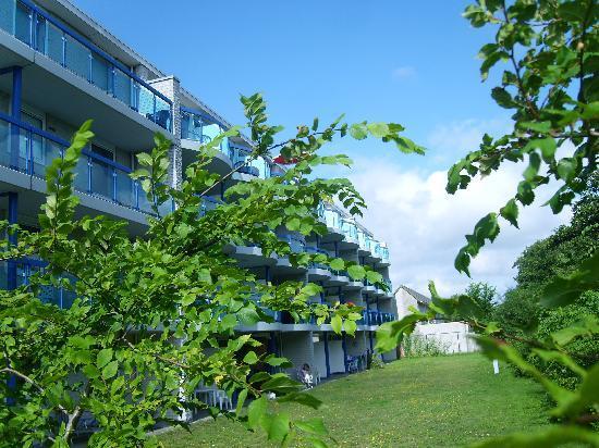 Fletcher Badhotel Callantsoog: Balkone