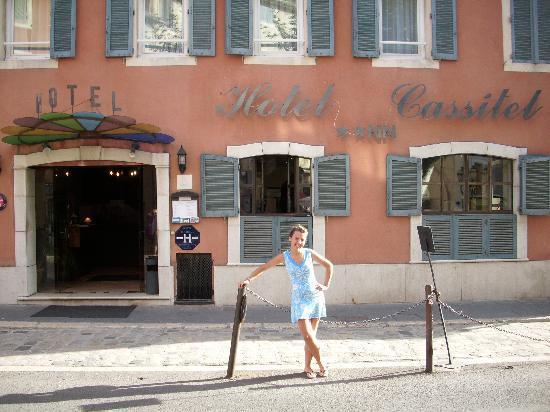 Hotel Cassitel: facciata dell'hotel