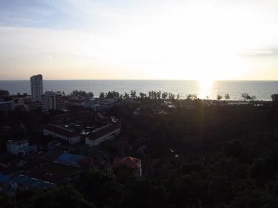 Karon Phunaka Resort: Sunset (View at Room)