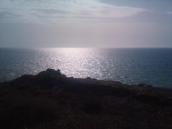 San Miguel de Abona, Spanien: The Beautiful view from the beach
