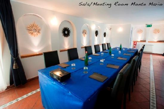 Grand Hotel Tiberio: Meeting Room