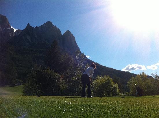 Golf Hotel Sonne: Silvia alla buca 5