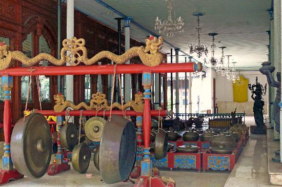 Kraton Surakarta: Gamelan des Sultans