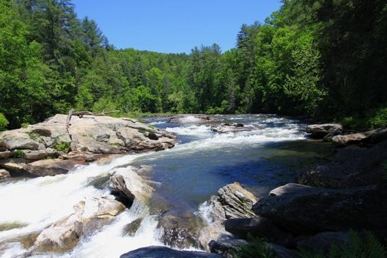 Wildwater Rafting - Chattooga: Bull Sluice on Chatooga River