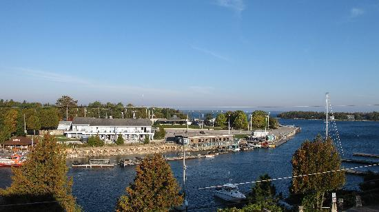 Tobermory Princess Hotel: View from our balcony.