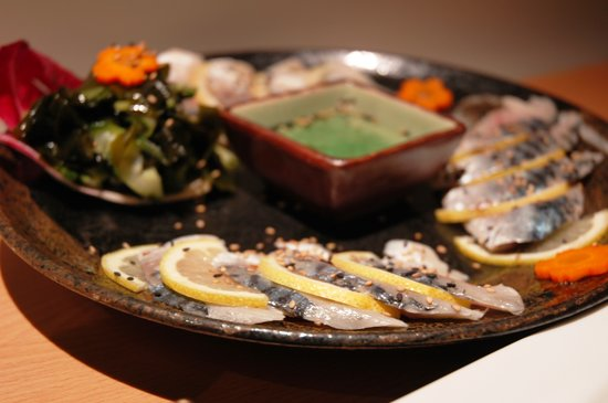 Shibui: Vinegared sardines