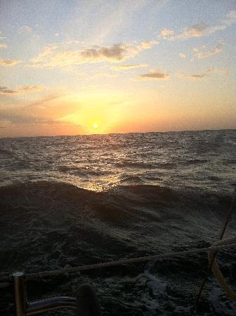 Anna Maria Sailing Adventures: Sunset and the sea
