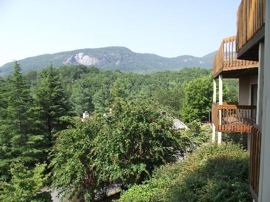 Fox Run Resort: View from balcony