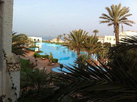 Palais des Roses: View from the room balcony