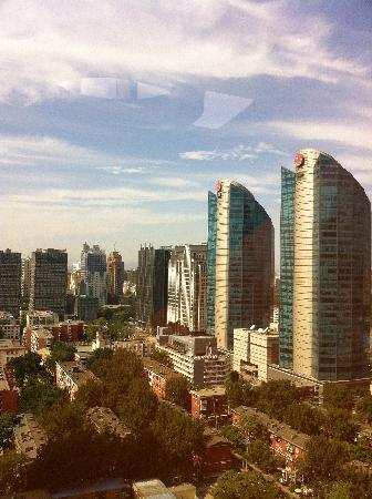 Fairmont Beijing: view from window