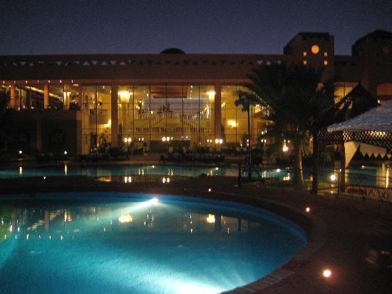 Sea Club Royal Nubian Island: Vista serale