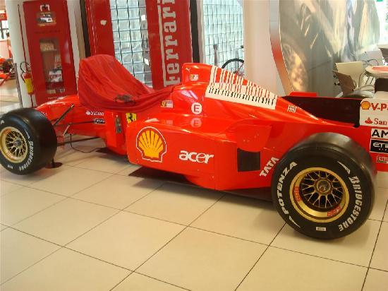 Museo Ferrari: formule 1