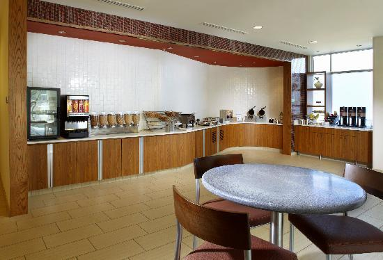 SpringHill Suites Columbus OSU: Breakfast Area
