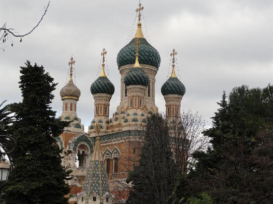 St Nicholas Orthodox Cathedral, Nice: superbe ensemble