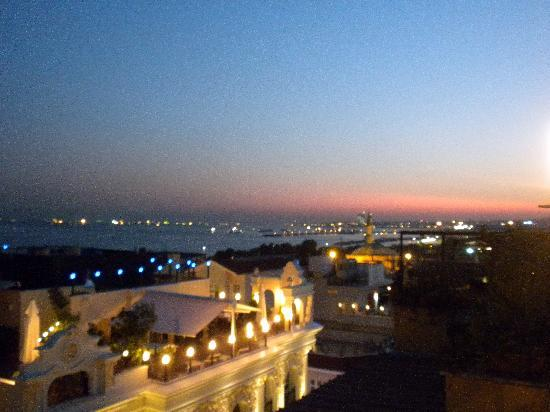 Albinas Hotel: View from our room
