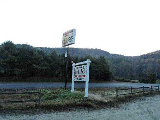 Townshend Dam Diner : Best Dam Sign