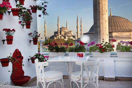 Sultanahmet Hotel: terrace