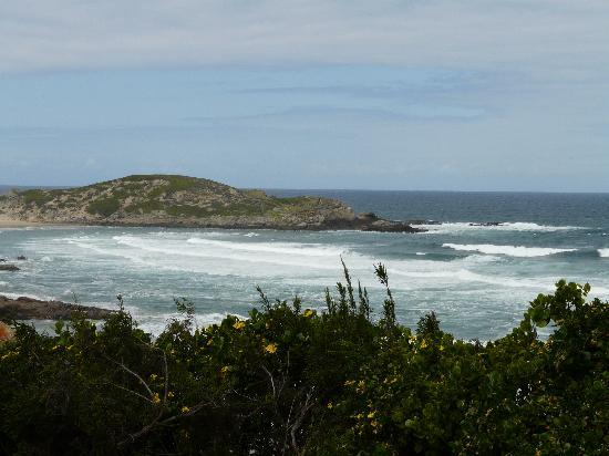 Robberg Nature Reserve: View from trail