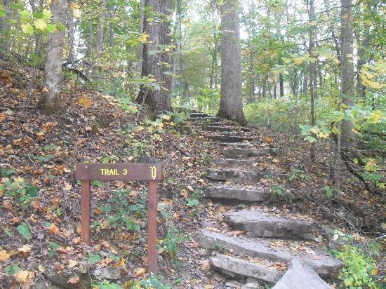 สเปนเซอร์, อินเดียน่า: Trail 3 Stairs