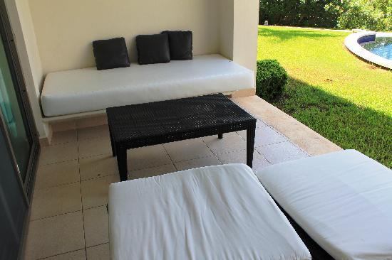 Secrets Silversands Riviera Cancun: patio
