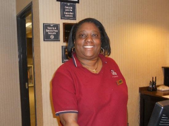 Comfort Suites Beaufort: This is Gina