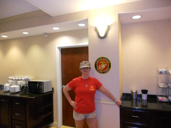 Comfort Suites Beaufort: Comfort Suites recognizes Marines!
