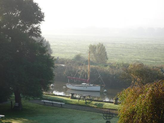 The Priory Hotel: Canal view from room