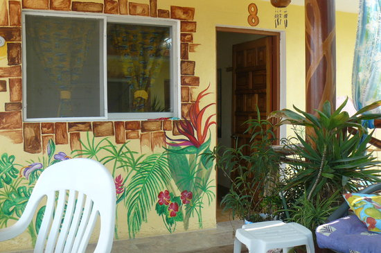 Hotel Las Palmas: you'll find lots of island-themed murals and paintings decorating our walls