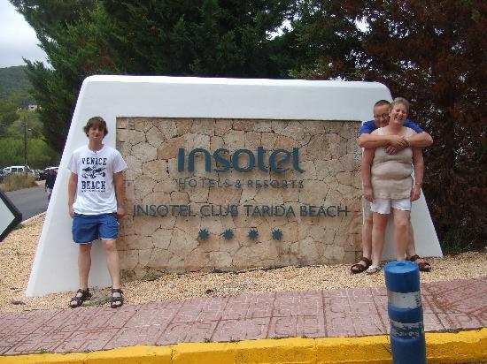 Cala tarida mattino picture of insotel tarida beach for Ibiza ristorante milano