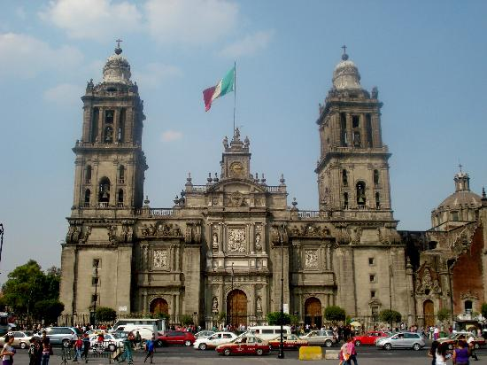 Zocalo: Catedral Metropolitana