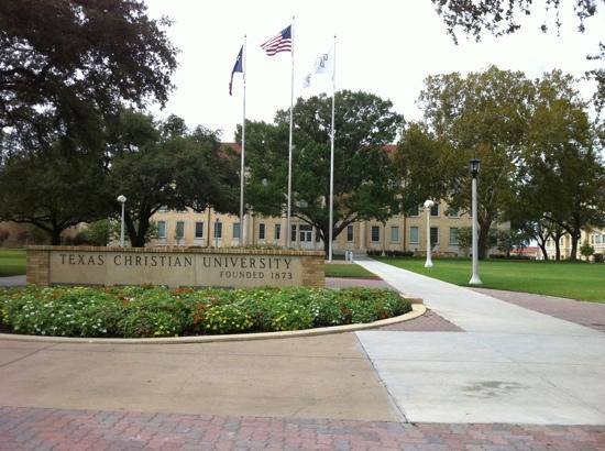 Texas Christian University: front view