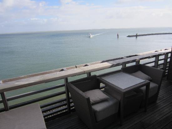 Budersand Hotel - Golf & Spa: Blick vom Balkon