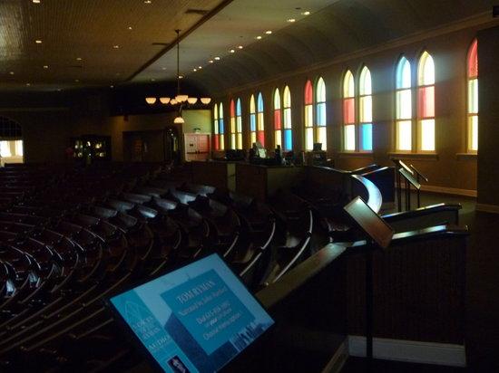 Ryman Auditorium : Auditorium