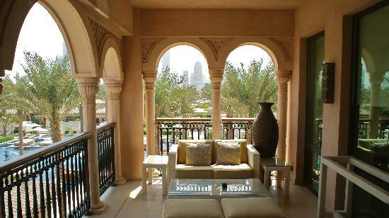 One&Only The Palm Dubai : Junior Suite Balkon